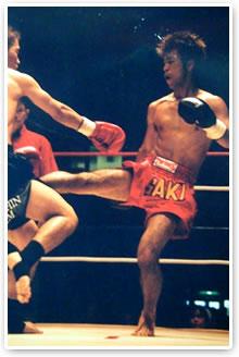 キックボクサー時代
